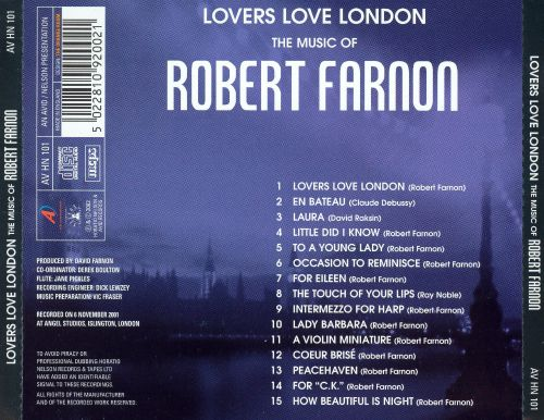 Lovers Love London: The Music of Robert Farnon