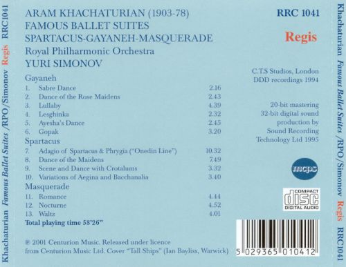 Khachaturian: Symphonic Highlights from