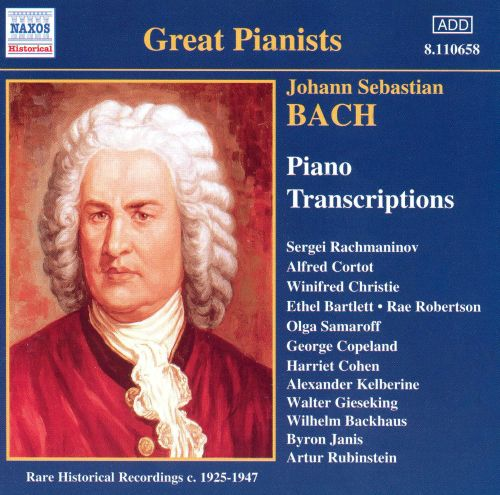 J.S. Bach: Piano Transcriptions
