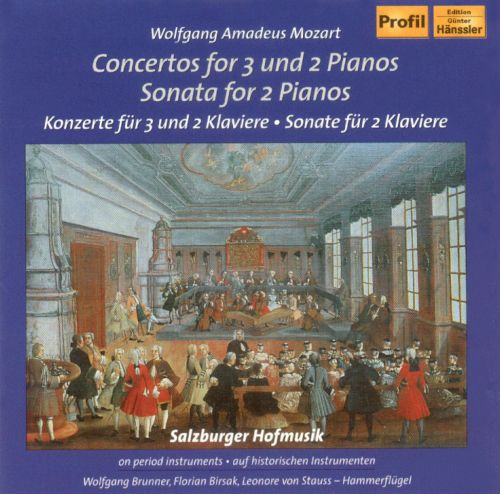 Mozart: Concertos for 3 and 2 Pianos; Sonata for 2 Pianos