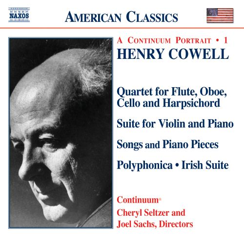 Henry Cowell: Instrumental, Chamber and Vocal Music, Vol  1