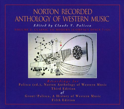 Norton Recorded Anthology of Western Music, Vol. 2