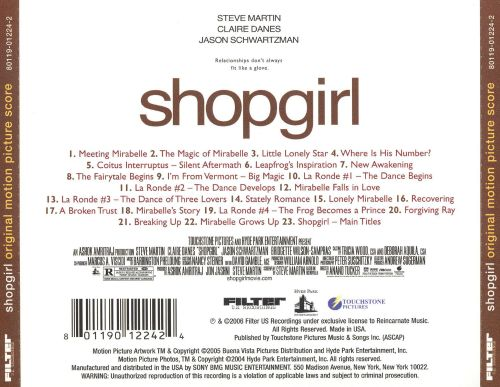 Shopgirl [Original Motion Picture Score]