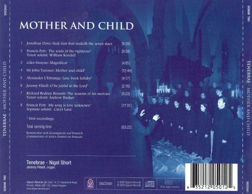 John Tavener: Mother and Child