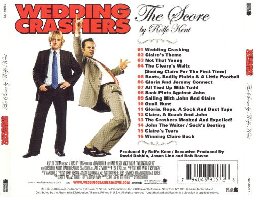 Wedding Crashers Original Score