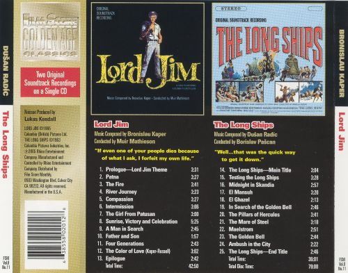 Lord Jim [Original Motion Picture Soundtrack]
