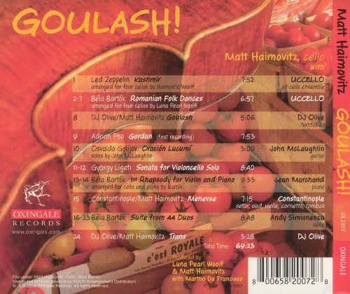 Goulash!: A Bartók-Infused Stew