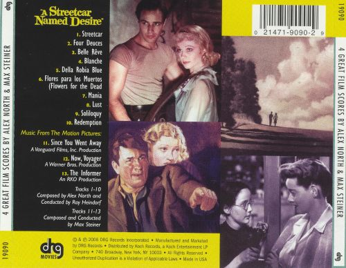 a streetcar named desire ray heindorf songs reviews credits allmusic. Black Bedroom Furniture Sets. Home Design Ideas