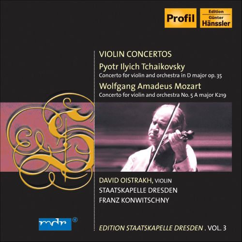 Tchaikovsky: Concerto for violin, Op. 35; Mozart: Concerto for violin, K219