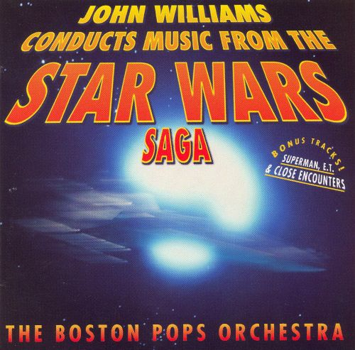 John Williams Conducts Music from the Star Wars Saga