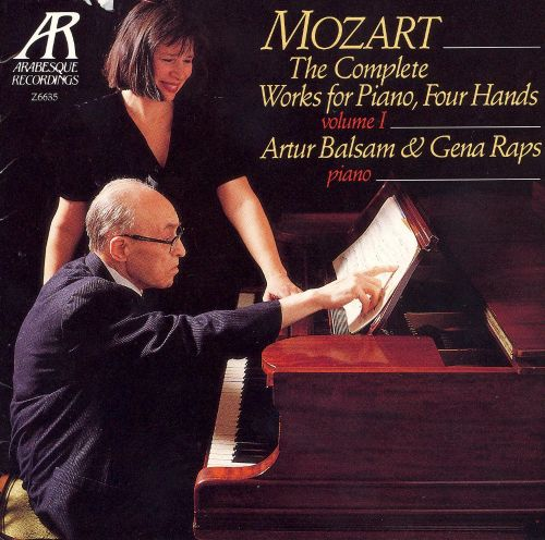 Mozart: The Complete Works for Piano, Four Hands, Vol. 1