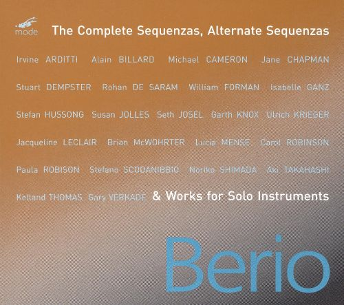Berio: The Complete Sequenzas, Alternate Sequenzas & Works for Solo Instruments