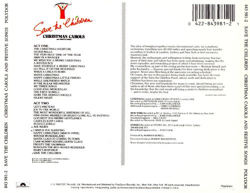 save the children christmas carols and festive songs - All Christmas Songs