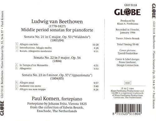 Beethoven: Middle Period Sonatas Op. 53