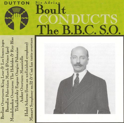 Boult Conducts the B.B.C. S.O.
