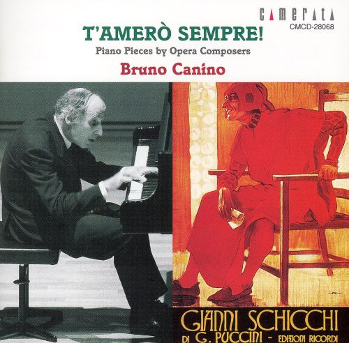 T'ameró Sempre! Piano Pieces by Opera Composers