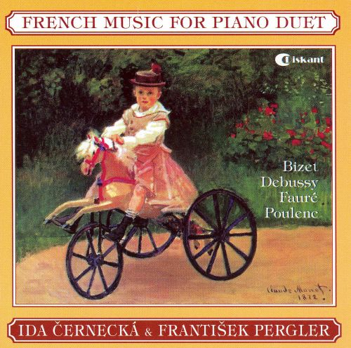 French Music for Piano Duet