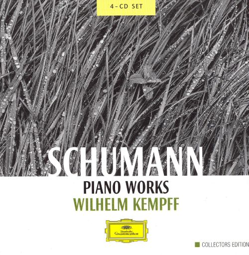 Schumann: Piano Works [4 CDs]
