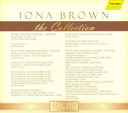 Iona Brown: The Collection