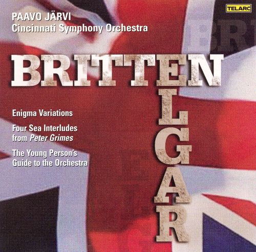 Britten: 4 Sea Interludes; The Young Person's Guide to the Orchestra; Elgar: Enigma Variations