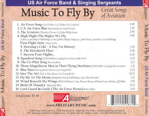 Music to Fly By: Great Songs of Aviation