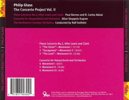Philip Glass: The Concerto Project, Vol. 2
