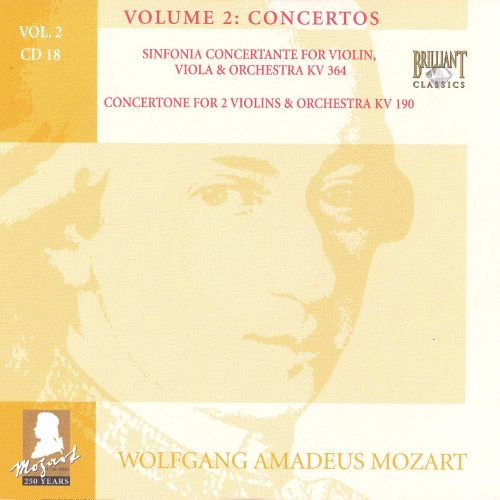 Mozart: Complete Works, Vol. 2 - Concertos, Disc 18