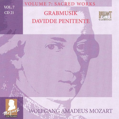 Mozart: Complete Works, Vol. 7 - Sacred Works, Disc 21