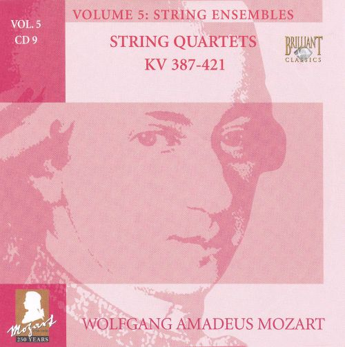 Mozart: Complete Works, Vol. 5 - String Ensembles, Disc 9