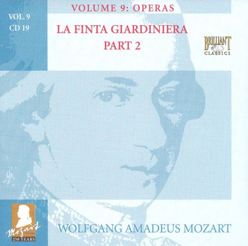 Mozart: Complete Works, Vol. 9 - Operas, Disc 19