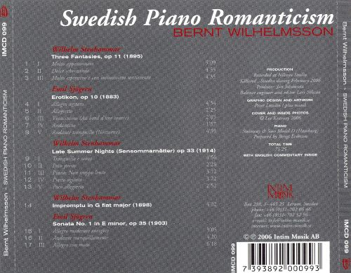 Swedish Piano Romanticism