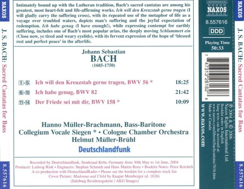 J.S. Bach: Sacred Cantatas for Bass