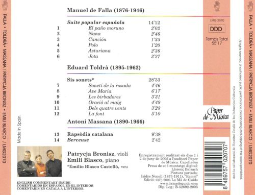 Spanish Works for Violin & Piano