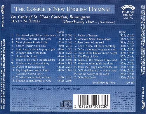 The Complete New English Hymnal, Vol. 23