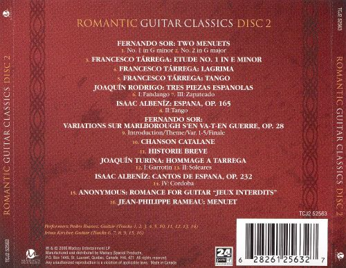 Romantic Guitar Classics, Disc 2