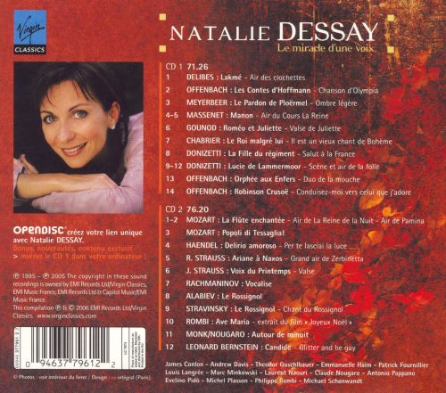 Miracle of the voice/dessay natalie