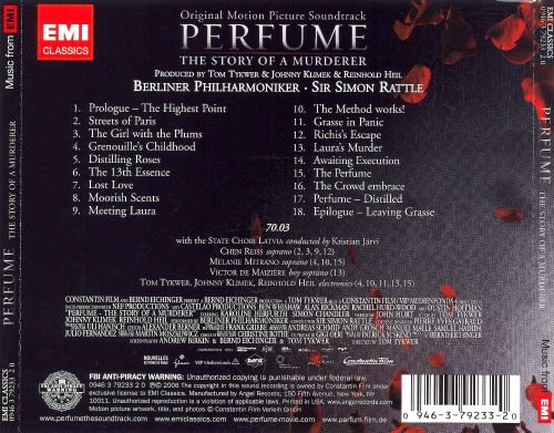Perfume: The Story of a Murderer [Original Motion Picture Soundtrack]