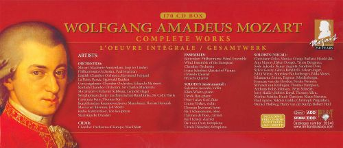 Wolfgang Amadeus Mozart: Complete Works - Various Artists ...