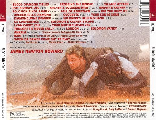 Blood Diamond [Original Motion Picture Soundtrack]