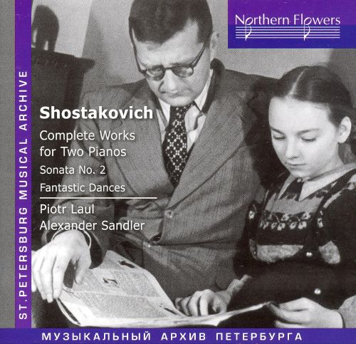 Shostakovich: Complete Works for Two Pianos