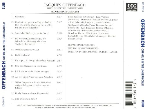 Jacques Offenbach: Orpheus in the Underworld