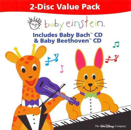 Baby Einstein 2-Disc Value Pack: Baby Bach / Baby Beethoven