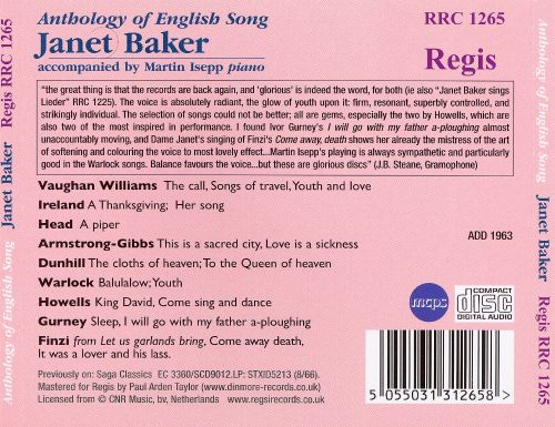 English Song Anthology