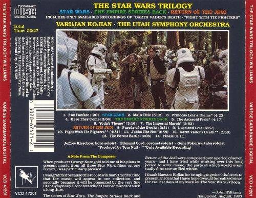 John Williams: The Star Wars Trilogy