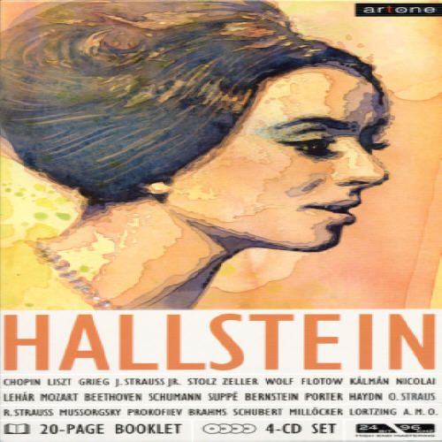 Hallstein performs Chopin, Liszt, Grieg, Strauss and more (box) [Germany]