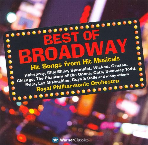 Best Of Broadway Hit Songs From Hit Musicals Royal border=