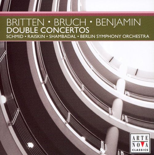 Double Concerto, for violin, viola & orchestra in B minor (supressed by composer)