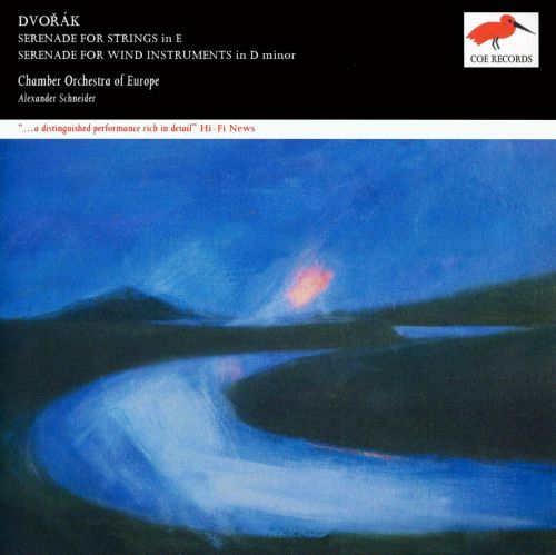 Dvoràk: Serenade for Strings in E; Serenade for Wind Instruments in D minor [25th Anniversary Edition]