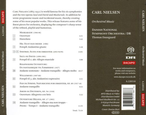 Carl Nielsen: Orchestral Music