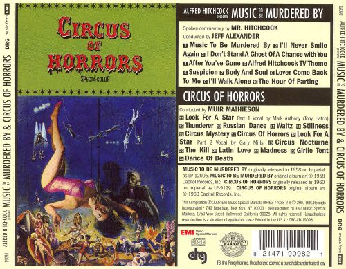 Alfred Hitchcock Presents Music to Be Murdered By/Circus of Horrors
